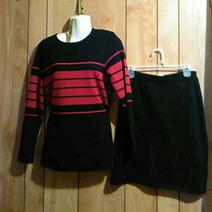 Sag harbor 2pc sweater set